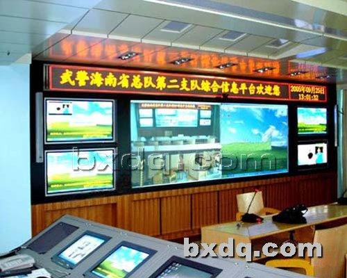 监控杆网提供生产背光板电视墙厂家