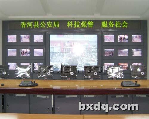 监控杆网提供生产多媒体电视墙厂家