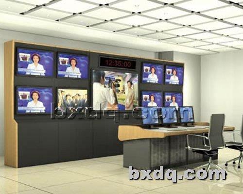 监控杆网提供生产普通电视墙厂家